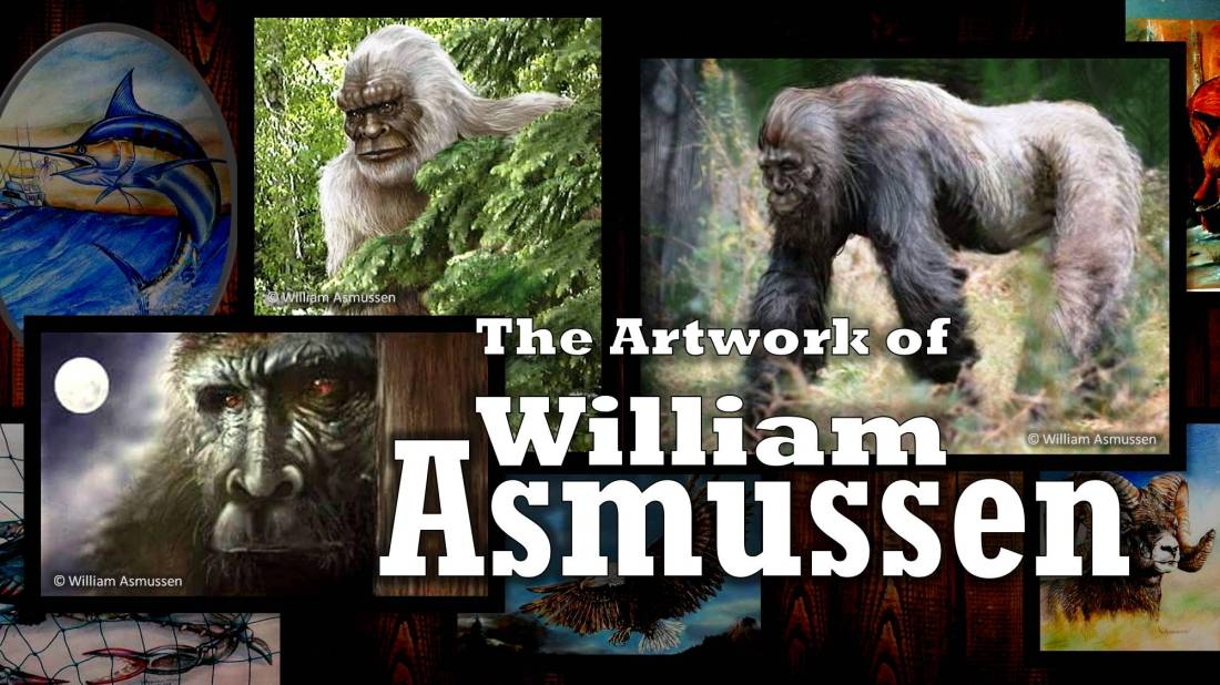 The Artwork of William Asmussen Cover