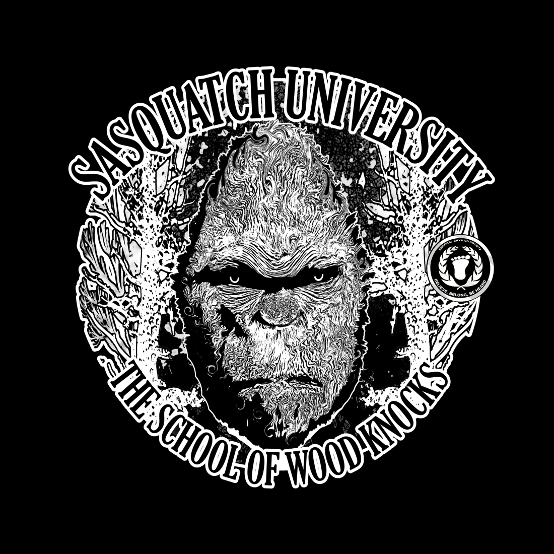 SASQUATCH UNIVERSITY tee