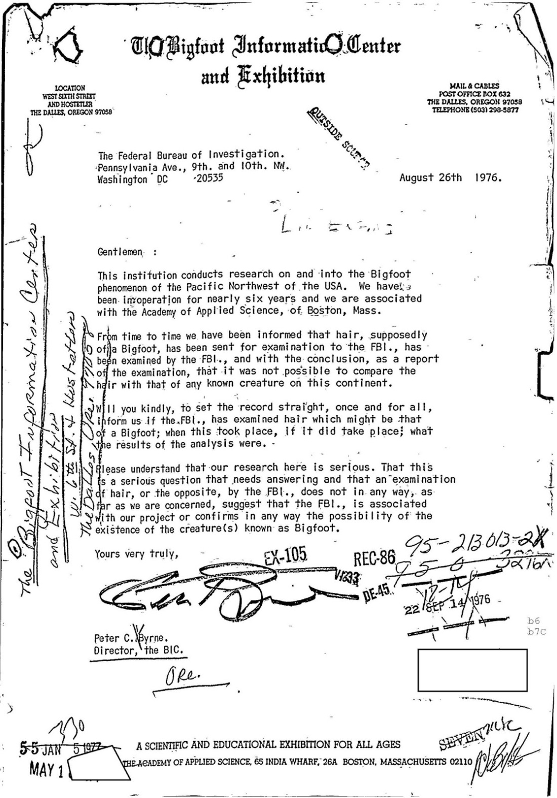 bigfoot FBI Files 10