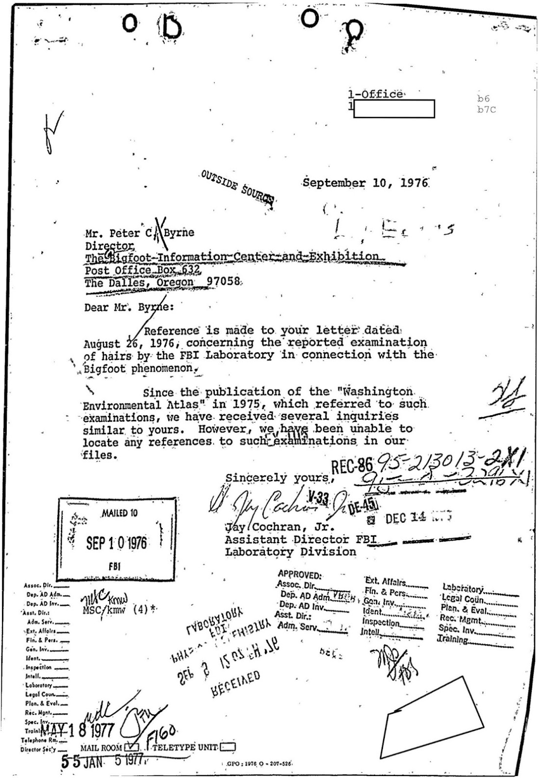 bigfoot FBI Files 11