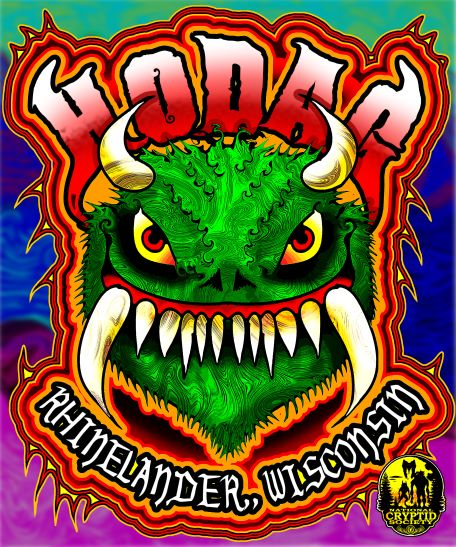 HODAG tee fancy small