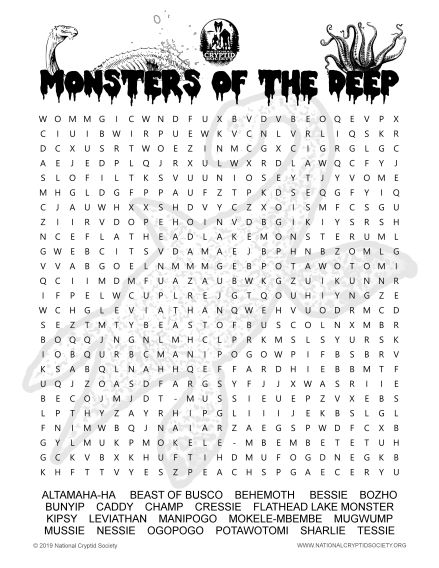 monsters of the deep IMAGE