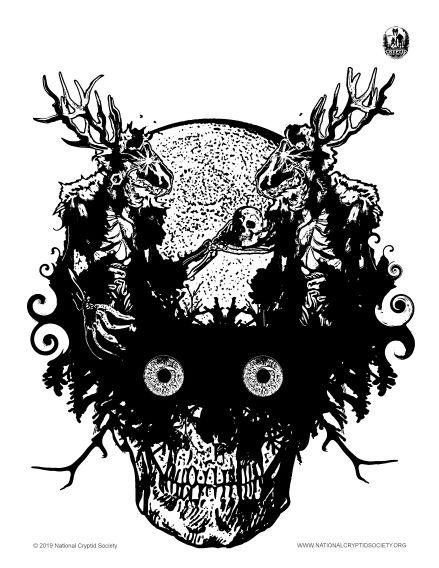 Wendigo Skull